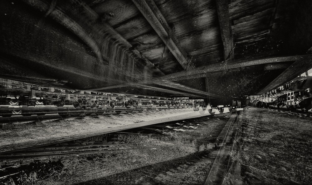 a dream about the train by kavolis