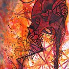 Abstract Skull  by Jp87cents