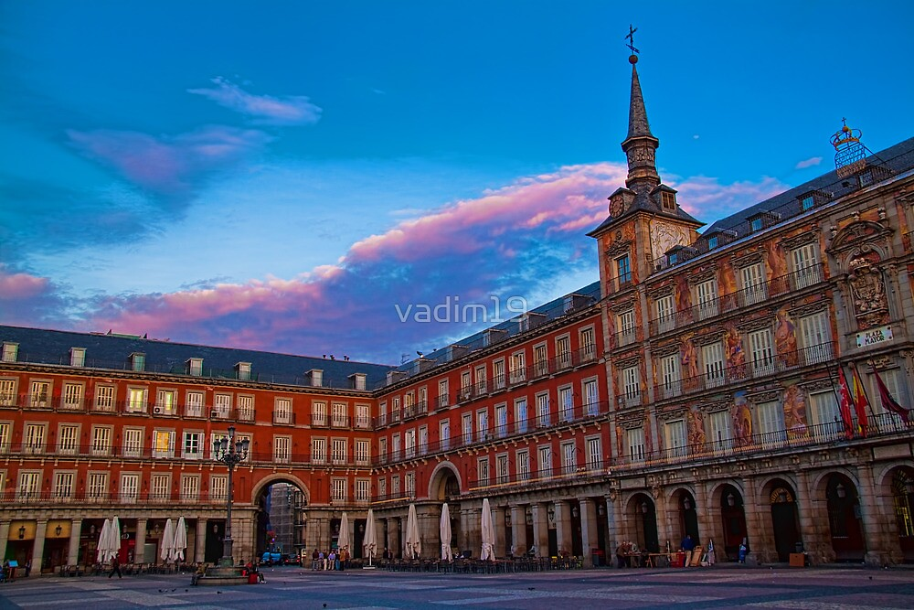 Spain. Madrid. Plaza Mayor. by vadim19
