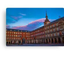 Spain. Madrid. Plaza Mayor. Canvas Print