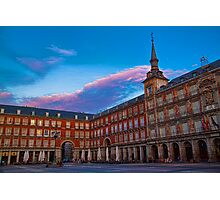 Spain. Madrid. Plaza Mayor. Photographic Print