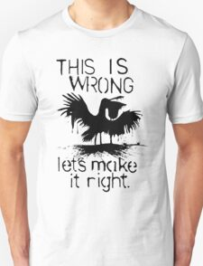 This Is Wrong - Gulf of Mexico Oil Spill 2010 T-Shirt