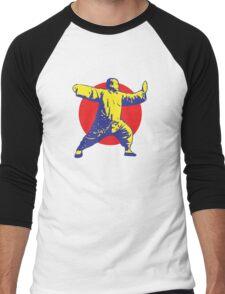 Tai Chi - Single Whip Men's Baseball ¾ T-Shirt