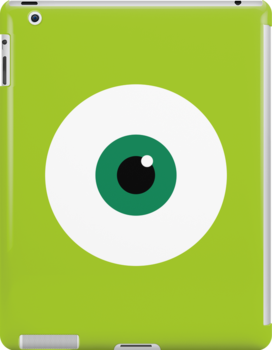 Mike Wazowski - Monster's, Inc by Justin Oberg