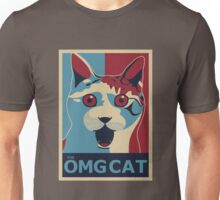 The OMG Cat Unisex T-Shirt