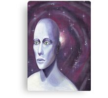 The Man In Space Canvas Print