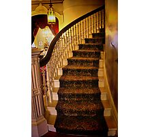 The Up Stairway Photographic Print
