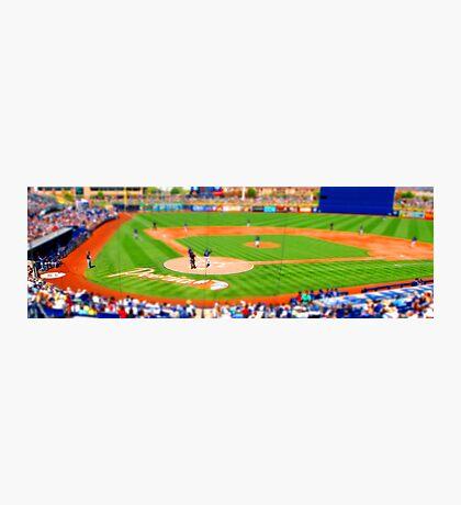 tiny baseball game Photographic Print