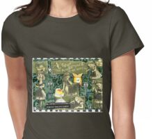 """""""At Last! We'd Thought You'd Never Arrive!"""" Womens Fitted T-Shirt"""