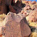 Indian Petroglyphs by marilyn diaz