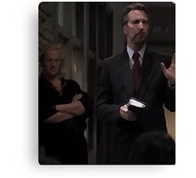Hans Gruber and Karl Vreski - Life changing event Canvas Print