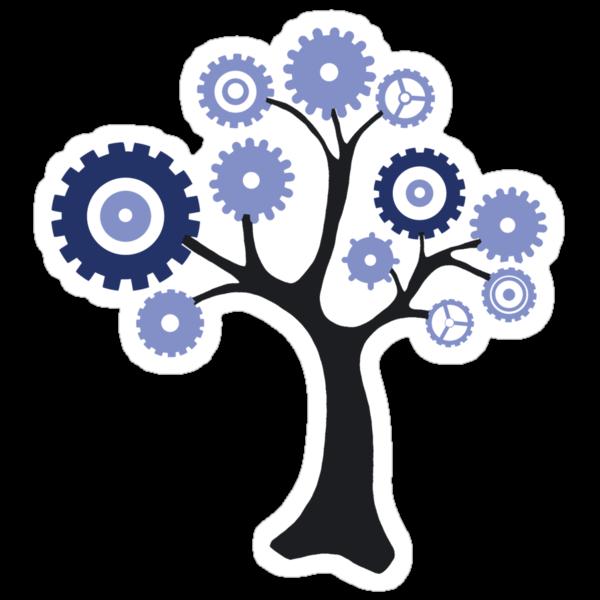 Gear Tree by Revital  Naumovsky