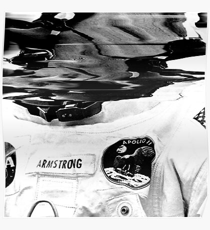 Neil Armstrong. Poster