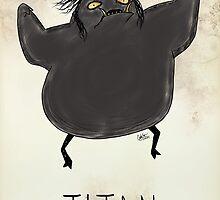 Tim Burton Titan by zerojigoku