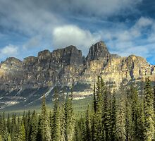Castle Mountain by Justin Atkins