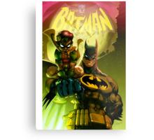 Bat Attack Metal Print