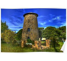 Old Flour Mill Nimmitabel Rural NSW Poster