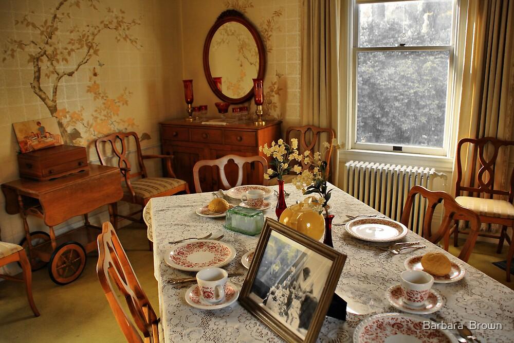 Breakfast Room by Barbara  Brown