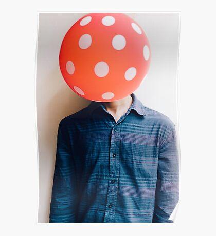 balloon head Poster