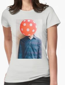 balloon head Womens Fitted T-Shirt