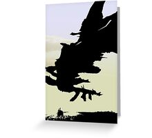 shadow of the colossus Greeting Card