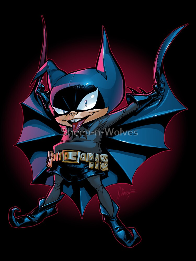 Bat-Mite by Sheep-n-Wolves