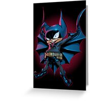 Bat-Mite Greeting Card