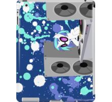 vinyl's bass cannon iPad Case/Skin