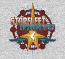 Starfleet Headquarters - Full Front by Jeffery Wright