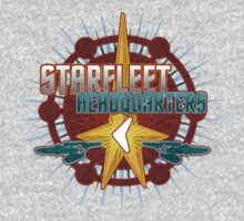 Starfleet Headquarters - Full Front T-Shirt