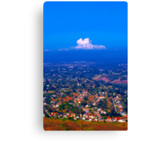 The Suburbs Canvas Print