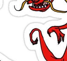 Timon & Mushu Sticker