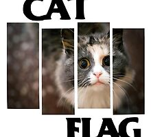 Cat Flag by Tolcarne