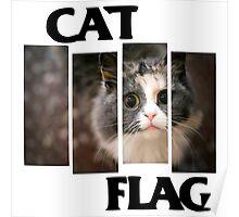 Cat Flag Poster