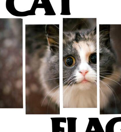 Cat Flag Sticker