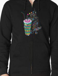 Milkshake Zipped Hoodie