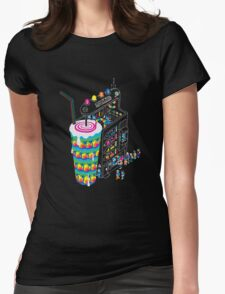 Milkshake Womens Fitted T-Shirt