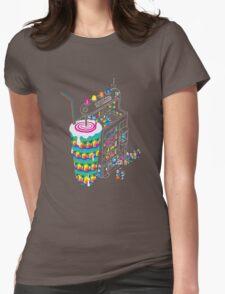 Milkshake Womens Fitted T-Shirt