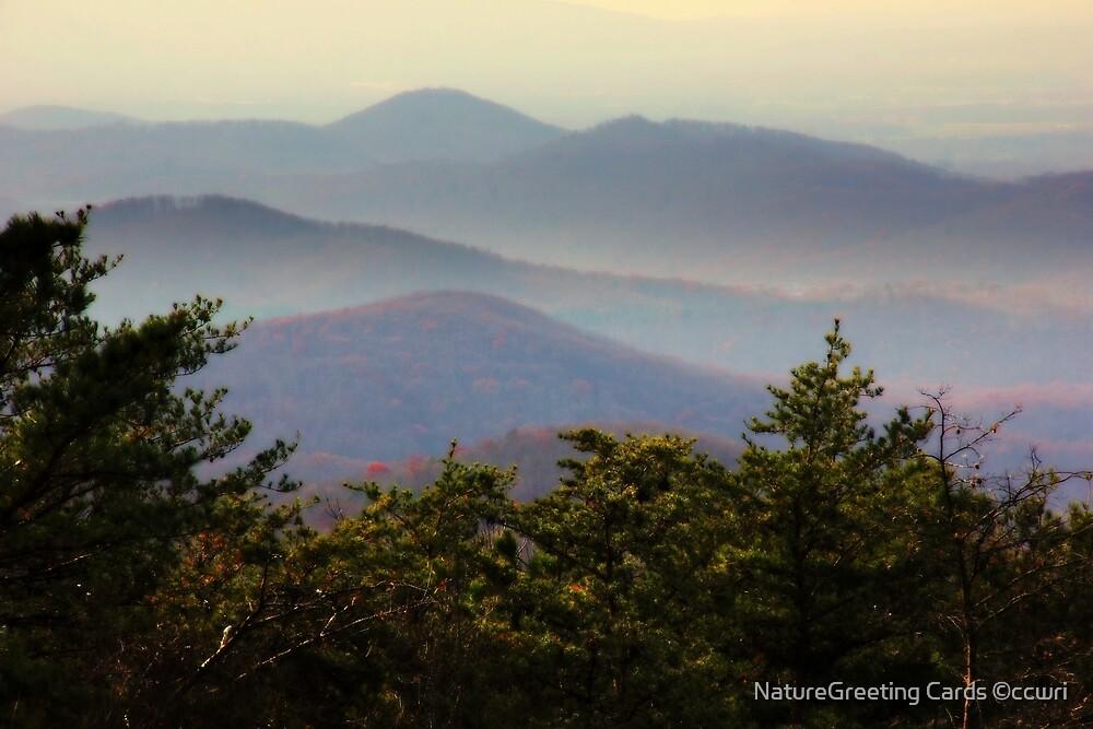 Appalachian Mountain Vista by NatureGreeting Cards ©ccwri
