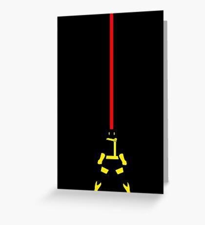 Cyclops Beam Greeting Card
