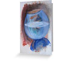 Fishbowl 1 Greeting Card