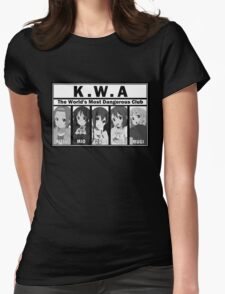 K-Ons with Attitude Womens Fitted T-Shirt