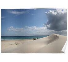 Sandblow, Fraser Island Poster