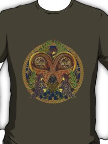 Celtic Heart with Angels and Birds T-Shirt