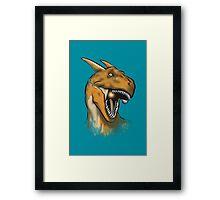 Charisaurus Rex Framed Print