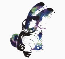 Crazy Bunny Graffiti Baby Tee