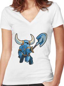Shovel Women's Fitted V-Neck T-Shirt