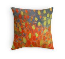 Leaves flying free Throw Pillow