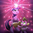 Twilight Sparkle Magic by AylaStarDragon