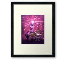 Twilight Sparkle Magic Framed Print
